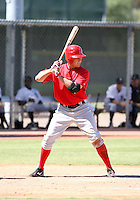 Peter Bourjos / Los Angeles Angels 2008 Instructional League..Photo by:  Bill Mitchell/Four Seam Images