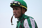 Garrett Gomez after winning The Kentucky Cup Sprint with El Brujo at Turfway Park. 09.26.2009
