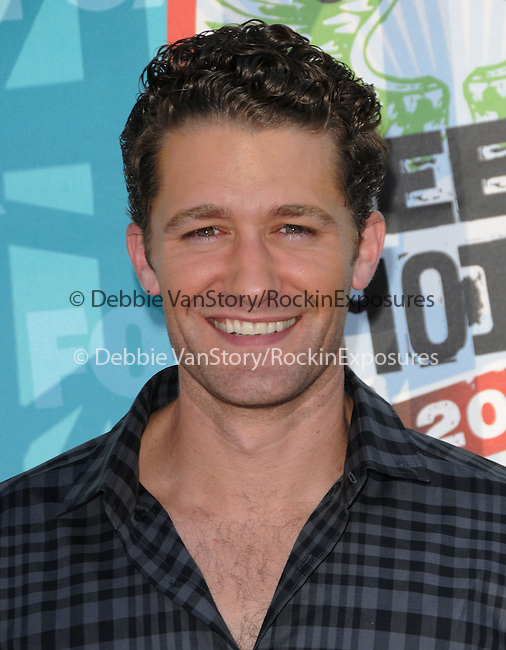 Matthew Morrison at Fox Teen Choice 2010 Awards held at he Universal Ampitheatre in Universal City, California on August 08,2010                                                                                      Copyright 2010 © DVS / RockinExposures