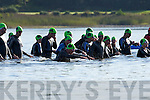 Competitors at the start of the Iron Man Triathlon in Lough Leane Killarney on Saturday