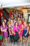 CHICKS PARTY: Cáit Irwin, Ballydesmond (front centre) who celebrated her hen party with family and friends in Lord Kenmare's restaurant, Killarney, Saturday night last.