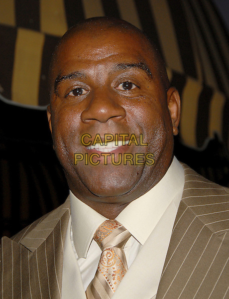 MAGIC JOHNSON.attends Midsummer Night's Dream: A Magic Night of Poker held at The Avalon in Hollywood, california, USA,.July 7, 2006..portrait headshot.Ref: DVS.www.capitalpictures.com.sales@capitalpictures.com.©Debbie VanStory/Capital Pictures