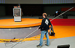 Berlin-Germany - May 17, 2014 -- International Trade Union Confederation - 3rd ITUC World Congress 'Building Workers' Power'; here, preparation inside/outside the venue CityCube -- Photo: © HorstWagner.eu / ITUC