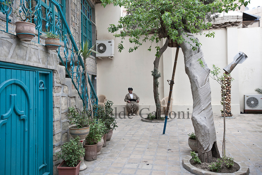 Iraq - Kurdistan - Sulaymaniyah -   Zamwa art gallery