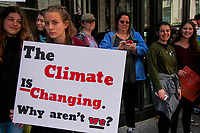 Youth Climate March Chicago Iliinois 5-3-19