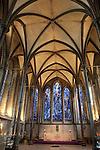 Trinity Chapel in Salisbury Cathedral Church in Salisbury; England; UK