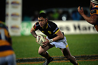 Carlos Price in action during the Mitre 10 Cup rugby union match between Bay of Plenty and Wellington at Rotorua International Stadium in Rotorua, New Zealand on Thursday, 31 August 2017. Photo: Dave Lintott / lintottphoto.co.nz