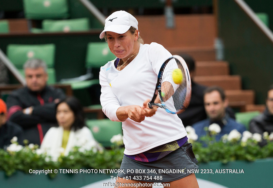 YULIA PUTINTSEVA (KAZ)<br /> <br /> TENNIS - FRENCH OPEN - ROLAND GARROS - ATP - WTA - ITF - GRAND SLAM - CHAMPIONSHIPS - PARIS - FRANCE - 2016  <br /> <br /> <br /> <br /> &copy; TENNIS PHOTO NETWORK