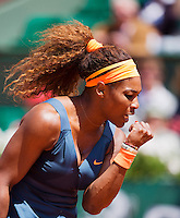 02-06-13, Tennis, France, Paris, Roland Garros,  Serena Williams