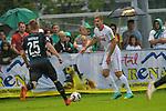 20.07.2018, Zillertalarena, Zell am Ziller, AUT, FSP, 1.FBL, SV Werder Bremen (GER) vs 1. FC Koeln (GER), im Bild<br /> Simon Terodde (Koeln 09)<br /> Fridolin Wagner (Werder Bremen #25)<br /> <br /> Foto © nordphoto / Kokenge
