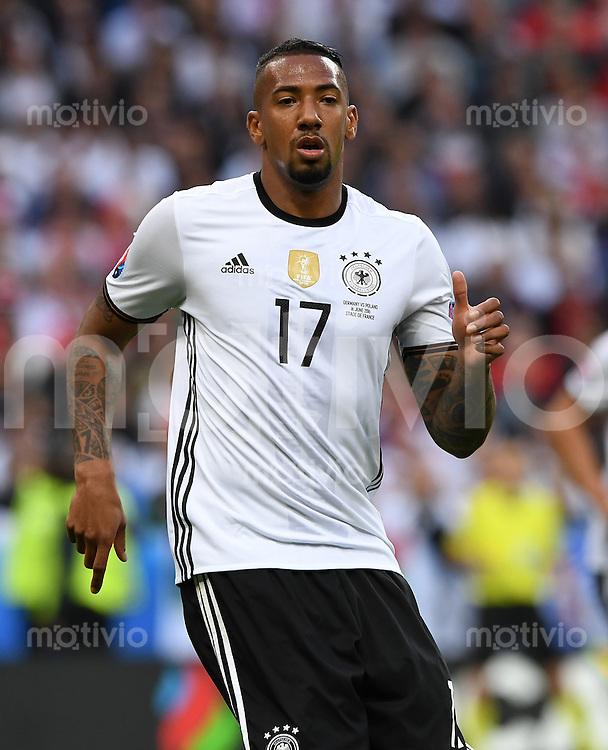 FUSSBALL EURO 2016 GRUPPE C IN PARIS Deutschland - Polen    16.06.2016 Jerome Boateng (Deutschland)