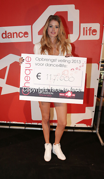 Doutzen Kroes at Dance 4 Life 2013 in Amsterdam Arena, 06.07.2013, Amsterdam.<br /> Credit: All Access/face to face<br /> - No Rights for Belgium, Luxembourg and Netherlands -