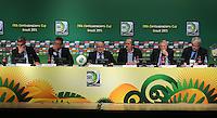 RIO DE JANEIRO, RJ, 28.06.2013 - COLETIVA / FIFA - Coletiva de imprensa  após a reunião do Comitê Organizador da Copa das Confederações da FIFA no Estádio do Maracanã no Rio de Janeiro, nesta sexta-feira, 28. (Foto: Vanessa Carvalho / Brazil Photo Press).