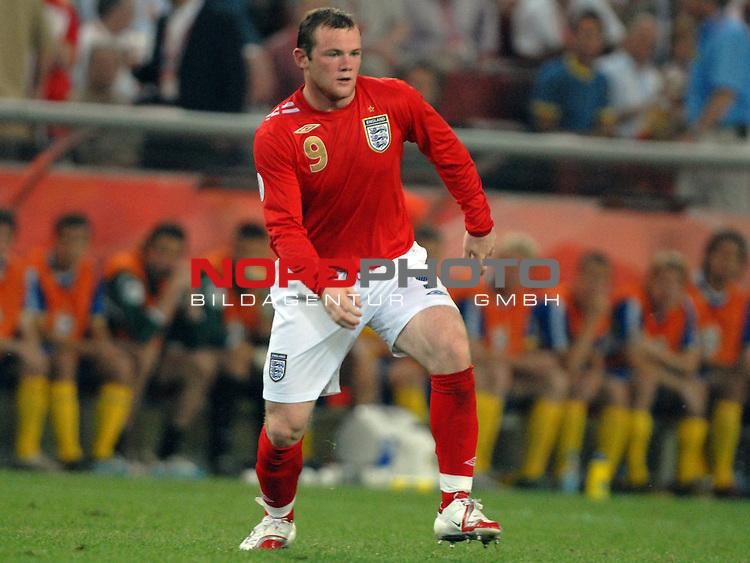 FIFA WM 2006 -  Gruppe B Vorrunde ( Group B )<br /> Play    #35 (20-Jun) - Schweden vs England <br /> <br /> Wayne Rooney (ENG)<br /> <br /> Foto &copy; nordphoto