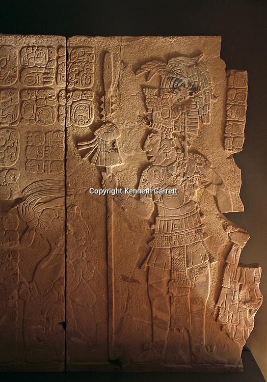 Ancient Cultures; Americas; Maya; Palenque; Mexico; Chiapas; Ruler; glyphs; Captive