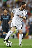 17.09.2012 SPAIN -  Champions League 12/13 Matchday 1th  match played between Real Madrid CF vs  Manchester City at Santiago Bernabeu stadium. The picture show Xabier Alonso (Spanish midfielder of Real Madrid)