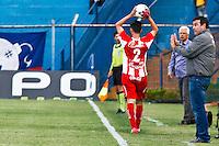 ATENÇÃO EDITOR: FOTO EMBARGADA PARA VEÍCULOS INTERNACIONAIS SÃO CAETANO,SP,22 SETEMBRO 2012 - CAMPEONATO BRASILEIRO SERIE B -SÃO CAETANO x CRB -Pintado  tecnico do CRB durante partida São Caetano X CRB válido pela 26º rodada do Campeonato Brasileiro serie B no Estádio Anacleto Campanela, no abc paulista na tarde  deste sabado (22).(FOTO: ALE VIANNA -BRAZIL PHOTO PRESS)