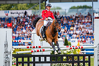 SUI-Pius Schwizer rides Chaquilot during the Allianz-Prize Jumping. 2019 GER-CHIO Aachen Weltfest des Pferdesports. Saturday 20 July. Copyright Photo: Libby Law Photography