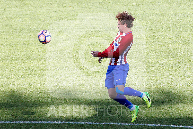 Atletico de Madrid's Antoine Griezmann during La Liga match. March 19,2017. (ALTERPHOTOS/Acero)