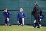 02.09.2019 Scotland u-21 training, Oriam, Edinburgh.<br />Stevie Kelly