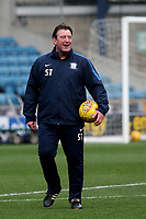 Preston North End, First Team Coach, Steve Thompson during Millwall vs Preston North End, Sky Bet EFL Championship Football at The Den on 13th January 2018