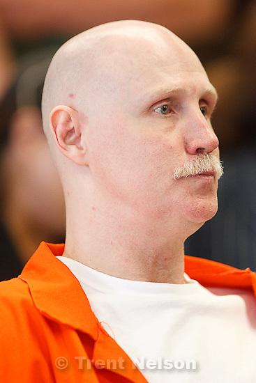Trent Nelson  |  The Salt Lake Tribune.Draper - Commutation hearing for death-row inmate Ronnie Lee Gardner Thursday, June 10, 2010, at the Utah State Prison.