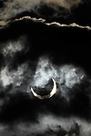 The annular solar eclipse seen in Gardnerville, Nev., on Sunday, May 20, 2012..Photo by Cathleen Allison