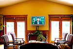 The 1018 Club is one of several hospitality clubs for Masters patrons open only during the week of The Masters Golf Tournament in Augusta, Georgia. The 1018 Club looks a lot like a country club and charges $250 per day for its services, which include breakfast and lunch, a computer room, a shuttle from the course, a Wii gaming area, massages, three bars and more.