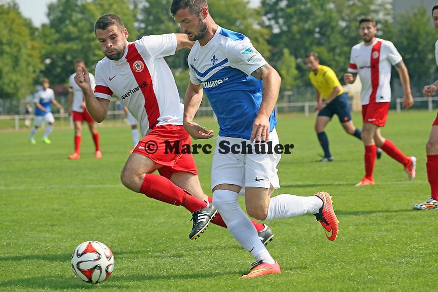 Marcel Heller (SV 98) setzt sich durch
