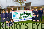 Ardfert NS students  Fiona Sheehan, Kate Hussey, Anlon Ferris, Avril Barrett, Jamie Benner, James Baxter, Marie O'Connell (teacher) Sarah Egan, Eimear O'Sullivan, Christopher Egan, Billy Daly, Padraig O'Sullivan Marie O'Connell (teacher) launch Action Day for Green Schools.   the Theme is Global Citizenship, Litter Waste.  on Friday December 12th