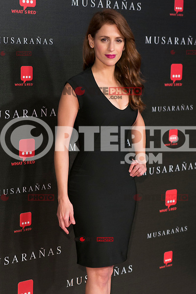"Sara Ballesteros attend the Premiere of the movie ""Musaranas"" in Madrid, Spain. December 17, 2014. (ALTERPHOTOS/Carlos Dafonte) /NortePhoto /NortePhoto.com"