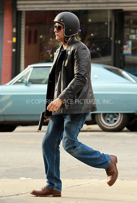 WWW.ACEPIXS.COM . . . . . ....May 9 2012, New York City....Actor Clive Owen shoots a scene for the new movie 'Blood Ties' on May 9 2012 in New York City....Please byline: John Peters - ACE PICTURES.... *** ***..Ace Pictures, Inc:  ..Philip Vaughan (212) 243-8787 or (646) 769 0430..e-mail: info@acepixs.com..web: http://www.acepixs.com