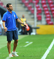 USA's Coach Tab Ramos during their FIFA U-20 World Cup Turkey 2013 Group Stage Group A soccer match France betwen USA at the Turk Telkom Arenain istanbul on June 24, 2013. Photo by Aykut AKICI/isiphotos.com