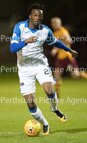 Motherwell v St Johnstone&hellip;06.02.18&hellip;  Fir Park&hellip;  SPFL<br />Matty Willock<br />Picture by Graeme Hart. <br />Copyright Perthshire Picture Agency<br />Tel: 01738 623350  Mobile: 07990 594431