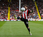 Kieron Freeman of Sheffield Utd during the Championship match at Bramall Lane Stadium, Sheffield. Picture date 16th September 2017. Picture credit should read: Simon Bellis/Sportimage