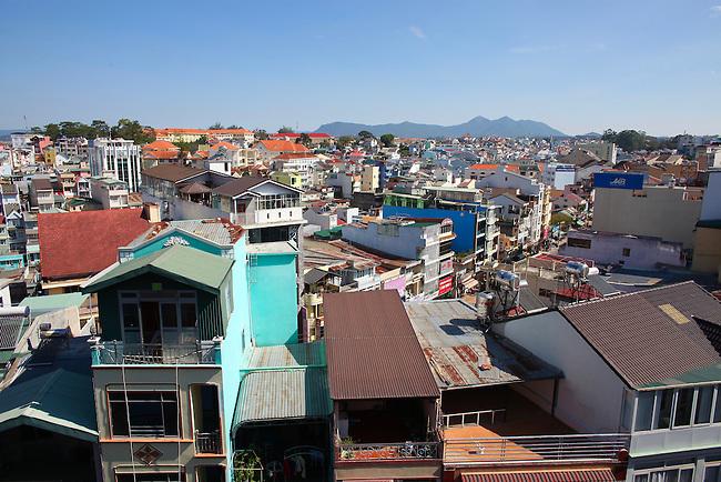 Rooftops. Dalat, Vietnam. April 19, 2016.