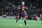 01.12.2012. Barcwelona, Spain. La Liga. Picture show Andres Iniesta in action during match between FC Barcelona against Athletic at Camp Nou