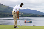 Gonzalo Fdez-Castano putts on the 5th green during the Final Day of the 3 Irish Open at the Killarney Golf & Fishing Club, 1st August 2010..(Picture Eoin Clarke/www.golffile.ie)