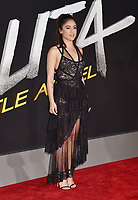 WESTWOOD, CA - FEBRUARY 05: Rosa Salazar attends the Premiere Of 20th Century Fox's 'Alita: Battle Angel' at Westwood Regency Theater on February 05, 2019 in Los Angeles, California.<br /> CAP/ROT/TM<br /> &copy;TM/ROT/Capital Pictures