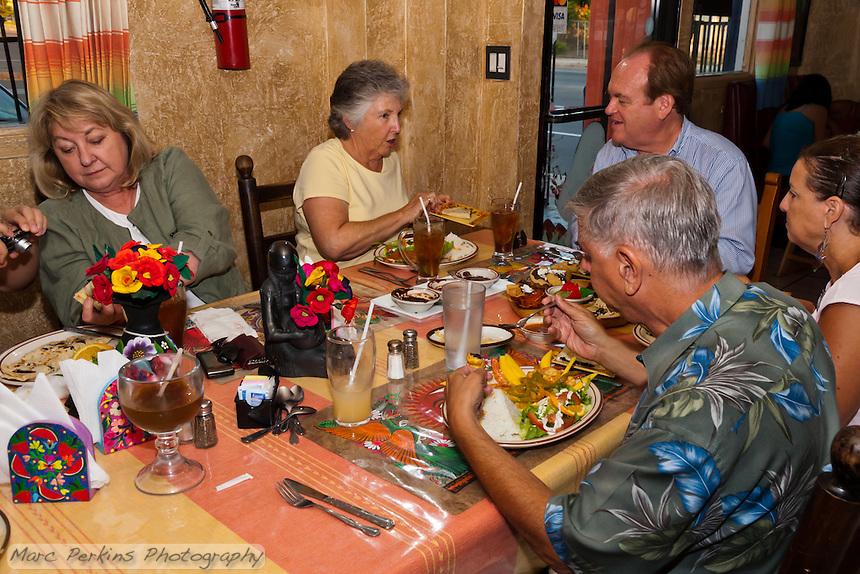 OCC Faculty and members of the culinology club eat at at Casa Oaxaca in Santa Ana, CA.