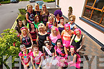 PARTY: Jackie Moriarty with her hens in the Gally Bar & Restaurant on Saturday before heading to Dingle to celebrate Jackie's forth coming wedding. with Jackie (seated centre)  were, Brenda Ryan, Mairead Lynch, Sonya Jones, Stacey Bowler, Veronica Lawlor, Bernadette Smullens, Trish Moran, Noelle O'Sullivan, Niamh Casey, Michelle Walmsey, Doreen O'Connell, Helen Dineen, Martina Leen, Betty O'Connor, Sally Morirty (mother of the bride), Jacqui and Ciara Hurley and Miriam Owens.