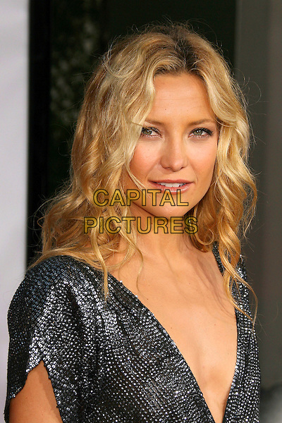 "KATE HUDSON.""You, Me, and Dupree"" World Premiere held at the ArcLight, Hollywood, Los Angeles, California, USA,.10 July 2006..portrait headshot black sequined sparkly low cut plunging neckline dress.Ref: ADM/ZL.www.capitalpictures.com.sales@capitalpictures.com.©Zach Lipp/AdMedia/Capital Pictures."