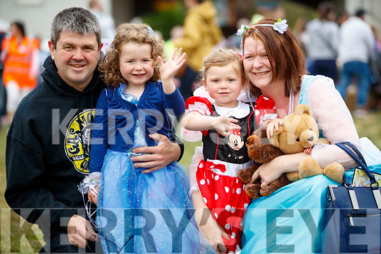 Paudie, Caoimhe, Niamh and Joan Sheehy, Lixnaw, enjoying a family day out at Kilflynn Enchanted Fairy Festival on Sunday last.