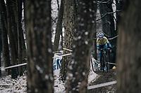 Jenko Bonne (BEL/U23)<br /> <br /> U23 Men's Race<br /> CX Vlaamse Druivencross Overijse 2017