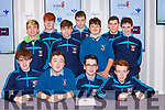 St Michaels Listowel students  at the Wellbeing day in the INEC on Tuesday front row l-r: Rory O'Sullivan, Tomas Walsh, Troy Kennedy, and Niall Lynch Back row: Killian Rodriguez, Liam Quilter, Liam Roos, Ryan Large, Michael Morkan, Felix Soerries and Cian Clancy