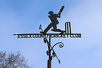 Blues skies behind the weather vane during Essex CCC vs Lancashire CCC, Specsavers County Championship Division 1 Cricket at The Cloudfm County Ground on 8th April 2017