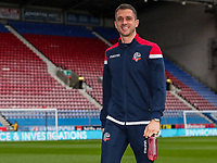 Bolton Wanderers' Andrew Taylor inspecting the pitch before the match<br /> <br /> Photographer Andrew Kearns/CameraSport<br /> <br /> The EFL Sky Bet Championship - Wigan Athletic v Bolton Wanderers - Saturday 16th March 2019 - DW Stadium - Wigan<br /> <br /> World Copyright &copy; 2019 CameraSport. All rights reserved. 43 Linden Ave. Countesthorpe. Leicester. England. LE8 5PG - Tel: +44 (0) 116 277 4147 - admin@camerasport.com - www.camerasport.com