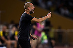 Manchester City Manager Pep Guardiola at the 2016 International Champions Cup China match at the Shenzhen Stadium on 28 July 2016 in Shenzhen, China. Photo by Victor Fraile / Power Sport Images