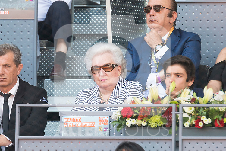 Pilar de Borbon attends Mutua Madrid Open Sub16 Tennis 2017 at Caja Magica in Madrid, May 13, 2017. Spain.<br /> (ALTERPHOTOS/BorjaB.Hojas)