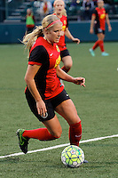 Rochester, NY - Saturday May 21, 2016: Western New York Flash forward Makenzy Doniak (3). The Western New York Flash defeated Sky Blue FC 5-2 during a regular season National Women's Soccer League (NWSL) match at Sahlen's Stadium.